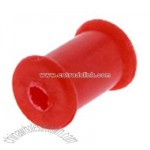 2 Gauge Red FLEXIBLE Silicone Tunnel