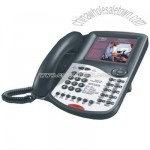 2-Line IP Telephone with Dynamic Promotion Screen