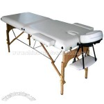 2-Section Wooden Massage Table