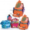 2-in-1 Beach Cooler Changes From Tote to Backpack -Creamsicle Stripe