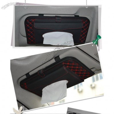 2 in 1 Car Sun Visor CD/Tissue Holder