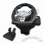 2-in-1 Force Feedback Steering Wheel