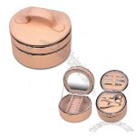 2-in-1 Jewelry Box with Manicure Set