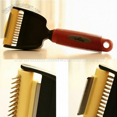 2 in 1 Pet Grooming Brush
