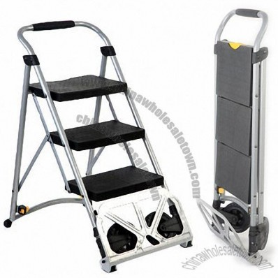 2-in-1 Step Ladder, Multi Functional, Home and Office Use