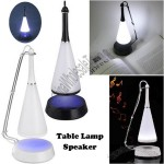 2 in 1 USB Touch Senor LED Table Lamp Desktop Light Built-in Mini Speaker