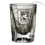 2 oz Logo Shot Glass