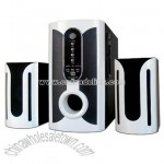 2.1ch Multimedia Speakers with USB and Card Reader