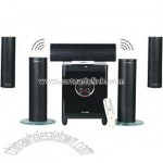2.4G 5.1 Wireless Home Theater Speaker