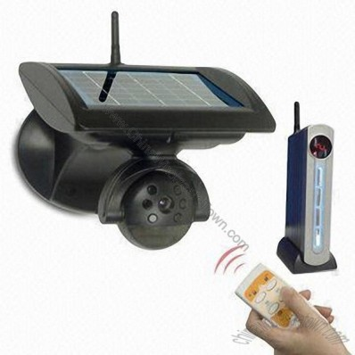 2.4GHz Outdoor Wireless Solar-powered Camera System