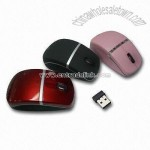 2.4GHz Wireless Optical Mouse with 10 Meters Operating Coverage
