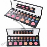 20 Color Eye Shadow and 6 Color Blusher Powder Palette