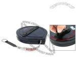 20 Meter Fibreglass Surveyors Tape Measure Black