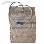 2000mL Urine Bag without Outlet, Anti-reflux Valve
