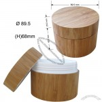 200ml Bamboo Cosmetic Cream Container