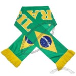 2014 Brasil Football World Cup Soccer Fans Scarf