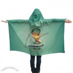 2014 Brazil Football World Cup Flag Body Cape