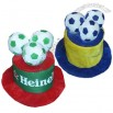 2014 Brazil World Cup Football Fans Hat With 3 Ball On The Top
