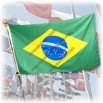 2014 Brazil World Cup Outdoor Flags