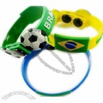 2014 Brazil World Cup Soccer Team Wristband/Bracelet