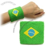 2014 World Cup Brazil Cotton Wristband