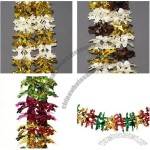 20cm X 2.7m Club Shaped Foil Garland