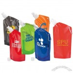 20oz Cabo Sport Bottle Bag - Collapsible Water Bag with Carabiner