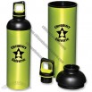 20oz Dual Cap Aluminum Bottle