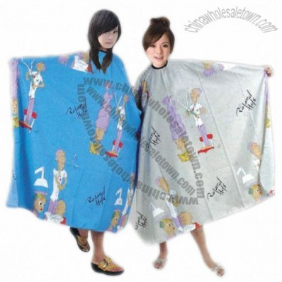210T Polyester Styling Hair Cutting Salon Capes and Aprons for Children