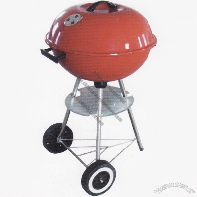 22 Inch Round Kettle Grills With Red Color
