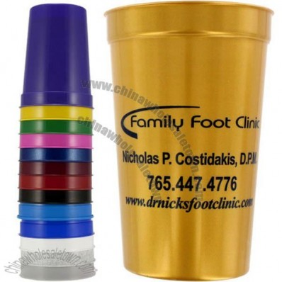 22 Oz Smooth Stadium Cups