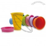 220ml Advertising Silicone Collapsible Cup