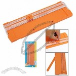 22cm Portable Plastic Scrapbook Paper Cutter Trimmer