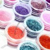 24 Color Nail Glitter Gel Set