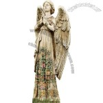 24-Inch Praying Angel Garden Statue