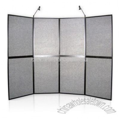 2*4 Panel Display,with fabric panel