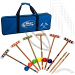24 Piece 6 Player Croquet Set