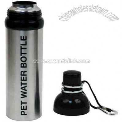 24 oz. Pet stainless steel water bottle