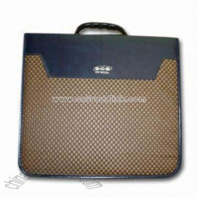 240 Discs Leather CD Bag