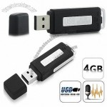 240 Hour New Generation Stealth USB Flash Drive Surveillance Audio voice Recorder