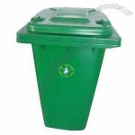 240L Garbage Bin with Wheels