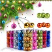 24pcs Christmas Balls Set