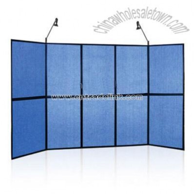 2*5 Panel Display,with fabric panel