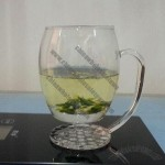 250mL Glass Mug with Glass Handle