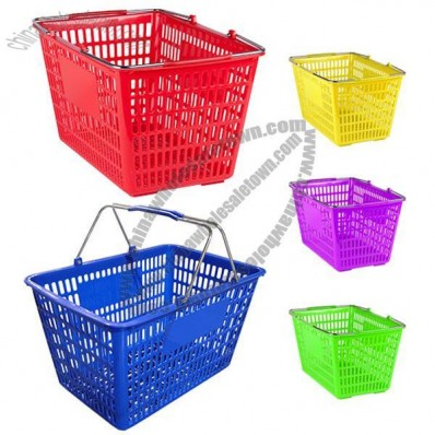 25L Grocery Market Shopping Basket