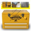 25L Metal Durable Beer Medical Ice Cooler Box