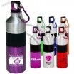 25oz Promo Aluminum Water Bottles with Two Tone Lid