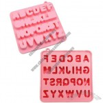 26 Letters Silicone Ice Cube Tray Mould