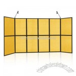 2*6 panel display,with fabric panel