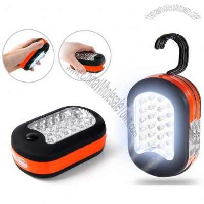 27 LED Torch Work Light with Magnet